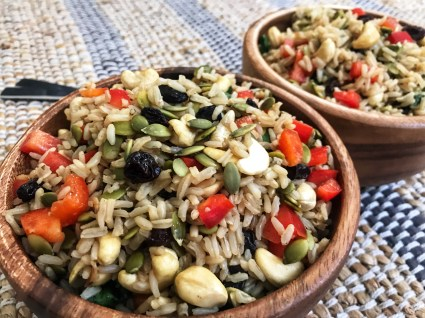 the-hungry-piggy-healthy-brown-rice-salad-feature