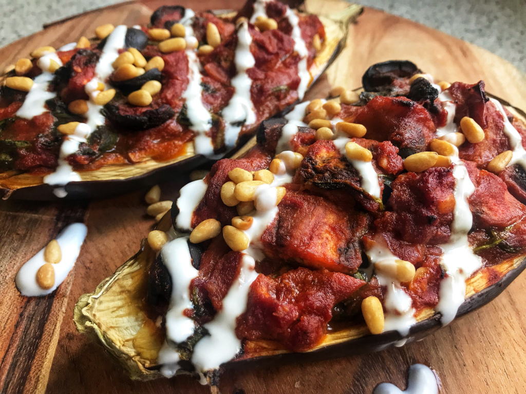 the-hungry-piggy-tomato-stuffed-eggplant-feature-image